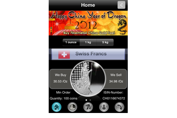 Silver_Coin_Android_Phone_App_home_Finemetal