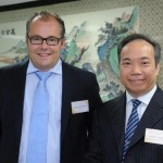 Tsang Hin Chiu, Victor General Manager Operations CGSE and President Finemetal Asia Domenic Parli