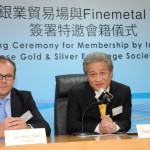 Presidents of CGSE and Finemetal Asia Haywood Cheung and Domenic Parli