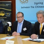 Pressconference Signing Member by Invitation Mr Haywood Cheung and Domenic Parli